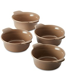 Vesta Stoneware 4-Pc. Ramekin Set