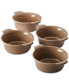 Anolon Vesta Stoneware 4-Pc. Ramekin Set