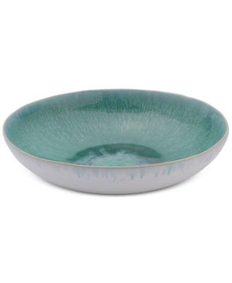Aventura Green Individual Pasta Bowl