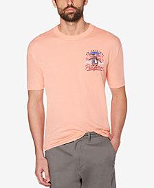Original Penguin Men's 90's Sunset Pete Logo-Print T-Shirt