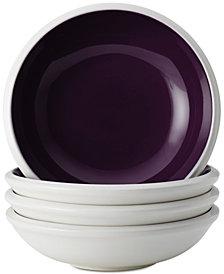 Rachael Ray Rise Purple Set of 4 Fruit Bowl Sets
