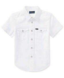 Polo Ralph Lauren Little Boys Western Shirt