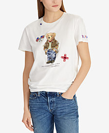 Polo Ralph Lauren Polo Bear Cotton T-Shirt