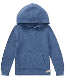 Polo Ralph Lauren Little Boys Waffle-Knit Cotton Hoodie