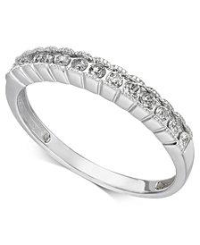 Diamond Band (1/5 ct. t.w.) in 14k White Gold
