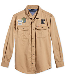 Tommy Hilfiger Big Boys Jamison Cotton Shirt