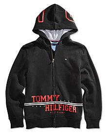 Tommy Hilfiger Big Boys Logo-Print Hoodie
