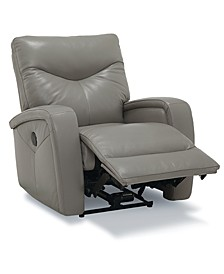 Erith Leather Power Wallhugger Recliner