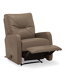 Finchley Leather Pushback Recliner