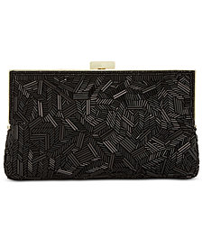 I.N.C. Trayci Beaded Clutch, Created for Macy's