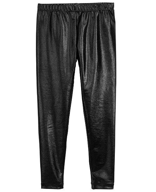 aaed6a6e9f330 ... Epic Threads Big Girls Faux Leather Leggings, Created for Macy's ...