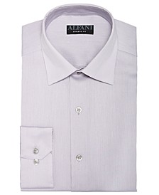 Men's Athletic Fit Bedford Cord Dress Shirt, Created For Macy's