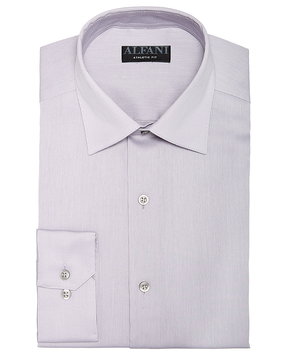 Orange Alfani Mens Dress Shirts At Macys Macys