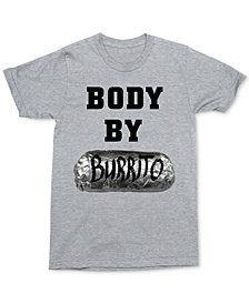 Body By Burrito Men's Graphic T-Shirt by Changes