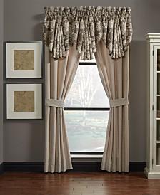 Croscill Nerissa Pole Top Window Panel Pair with Tiebacks