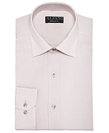 AlfaTech by Alfani Men's Big & Tall Bedford Cord Dress Shirt, Created For Macy's