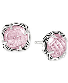 Peter Thomas Roth Rose Quartz Stud Earrings (8 ct. t.w.) in Sterling Silver