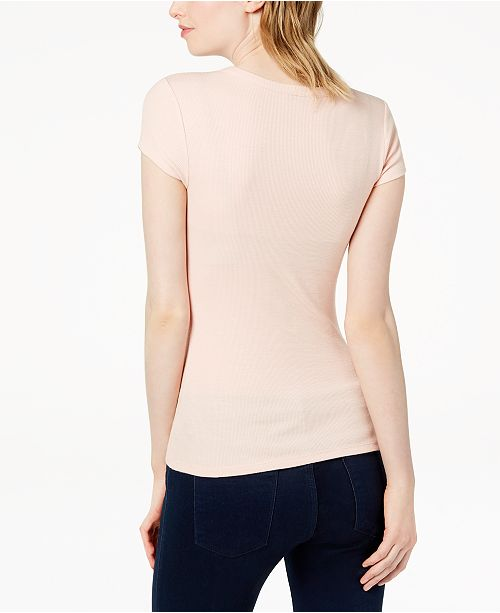 Created Shirt III Bar Pink for T Ribbed Macy's Ballet gRvaqwP