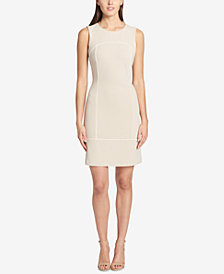 Tommy Hilfiger Corded Scuba Crepe Dress