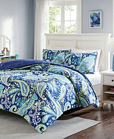 Melissa Reversible 2-Pc. Twin Comforter Set