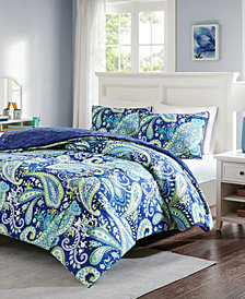 Intelligent Design Melissa Reversible 3-Pc. Full/Queen Comforter Set