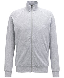 BOSS Men's Regular/Classic-Fit Loungewear Jacket