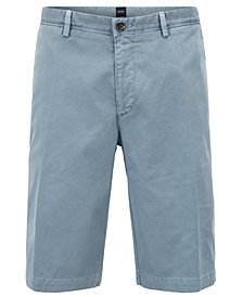 BOSS Men's Regular/Classic-Fit Pigment-Dyed Chino Shorts