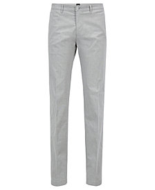 BOSS Men's Regular/Classic-Fit Chino Pants