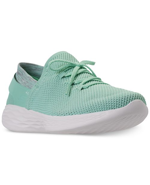 a3cca904b644b Skechers Women's 4 YOU Spirit Casual Walking Sneakers from Finish Line from  Finish Line