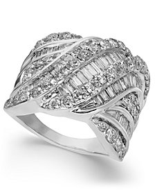 Diamond Cluster Statement Ring (3 ct. t.w.)