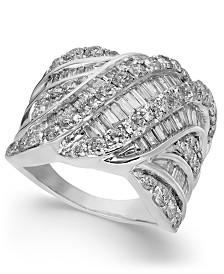 Diamond Cluster Statement Ring (3 ct. t.w.)