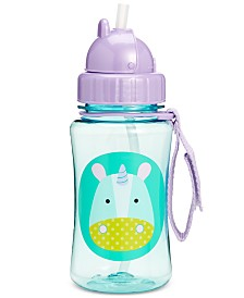Skip Hop Unicorn Zoo Straw Water Bottle