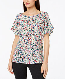 Weekend Max Mara Galoppo Mixed-Media Top