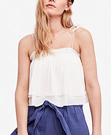 Free People No Lie Tiered Popover Bodysuit
