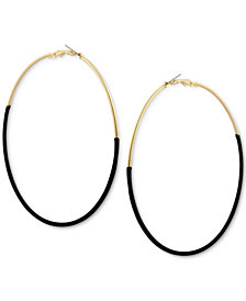 GUESS Wrapped Hoop Earrings