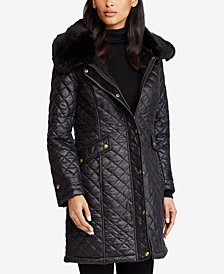 Lauren Ralph Lauren Diamond Quilted Coat