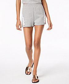Material Girl Juniors' Pull-On Braided Shorts, Created for Macy's