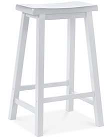 "Saddle 29"" Bar Stool, Quick Ship"