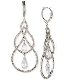 Jenny Packham Crystal Orbital Drop Earrings