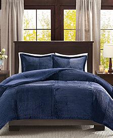 Madison Park Parker 3-Pc. Full/Queen Comforter Set