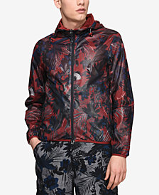 A|X Armani Exchange Men's Reversible Bomber Jacket