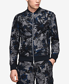 A|X Armani Exchange Men's Printed Bomber Jacket