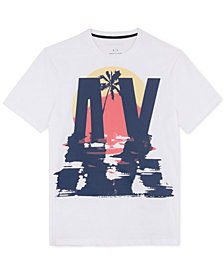 A|X Armani Exchange Men's Graphic-Print T-Shirt