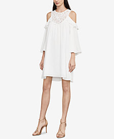 BCBGMAXAZRIA Cole Cold-Shoulder Shift Dress