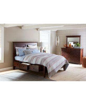 Matteo Storage Platform Queen Bed, Created for Macy's