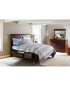 Matteo Storage Platform Bedroom Collection, Created for Macy's