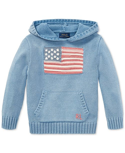 df4430a40 ... Polo Ralph Lauren Indigo Flag Cotton Hoodie