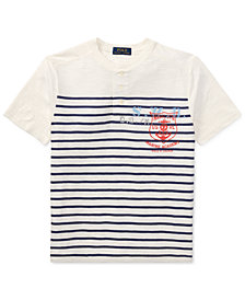 Polo Ralph Lauren Big Boys Cotton Jersey Henley Shirt