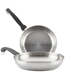 Farberware ClassicTraditions ProSear 2-Pc. Stainless Steel Skillet Set