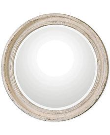 Uttermost Busalla Ivory Round Mirror